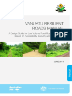Vanuatu Resilient Roads Manual Draft PWD Rev 1