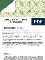 Prakash v mst sahani