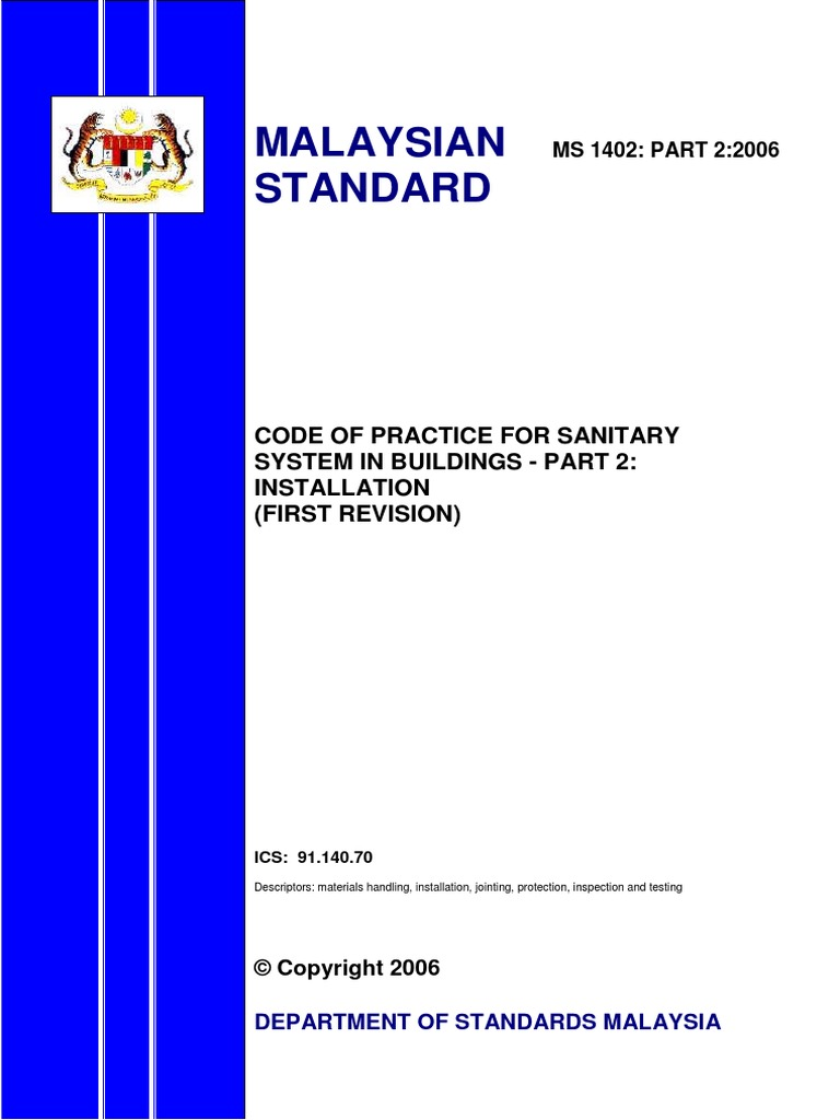 home wiring guide free pdf ms 1402 code of practice    pdf    standardization malaysia  ms 1402 code of practice    pdf    standardization malaysia