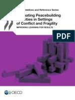 OECD - Evaluating Peacebuilding in Conflict