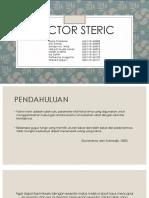 Kelompok 3_ Factor Steric
