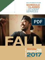 ELAC Fall 2017 Classes