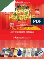 Automatic Centre 2017 Christmas Catalog