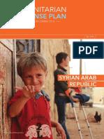 2016 Humanitarian Response Plan - Syrian Arab Republic