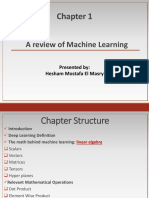 Deep Learning Chapter 1