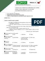 Subiect Si Barem LimbaRomana EtapaN ClasaII 11-12