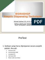 Tekhnik Aseptik Dispensing AHMAD SUBHAN.ppt