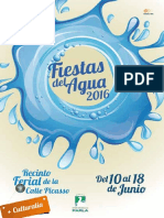Programa Fiestas Agua Parla 2016