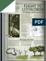 Flight to Lothlorien