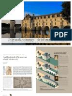Chenonceau Castle Illustrations