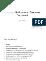 Constitutional Economics II