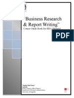 Business Research Course Guide Book