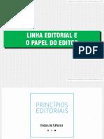lenha editorial e o papel do editor