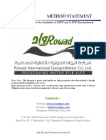 Rowad - Installation Procedure for HDPE