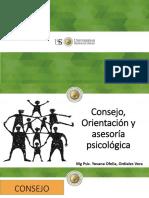 Consejo, Orientación y Asesoría Psicológica