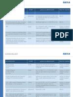 Check List de Documentos CEF
