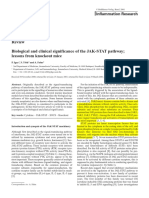 Biological and Clinical Significance of the JAK-STAT Pathway