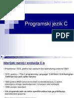 Programski jezik C 2005
