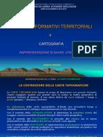Sistemi Informativi Territoriali 04. Rappresentazione Di Gauss.utm. DATUM (12-13)