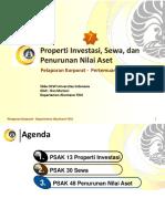 PKP 7 Properti Investasi Sewa Dan Penurunan Nilai Aset