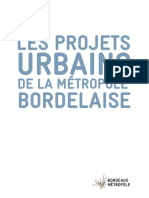 Les projets urbaines de la métropole bordelaise