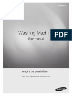 Samsing Washing Machine Manual