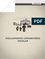 Apostila Policiamento comunitário escolar