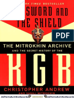 The Sword and the Shield the Mitrokhin Archive and the Secret History of the KGB OCR