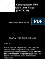 Sistem Kewaspadaan Dini Kejadian Luar Biasa SKD-KLB