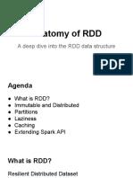 Anatomy of RDD