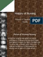 History of Nursing (Capistrano)