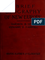 A Brief Geography of New Europe 1921