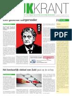 Wijkkrant Buitenveldert Amsterdam November 2017