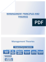 Management Principles and Theories