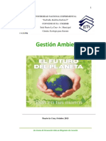 Gestion Ambiental (Ecologia Para Gtes.)