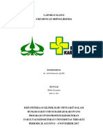 Lapkas Ckd Dengan Hipoglikemia - Dr Arif