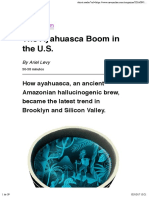 The Ayahuasca Boom in the U.S.