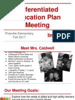 pineville 2017 dep meeting