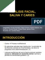 Paralisis facial, saliva y caries