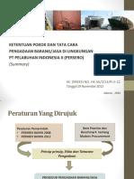 Resume Pedoman Pbj Skd No Hk 56-5-13 Pi II 12