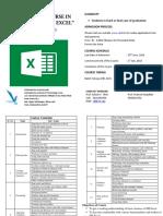 Basic MS Excel