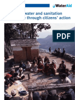 Improving Water Sanitation Governance Citizens Action Nepal