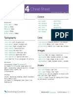 Bootstrap 4 Cheat Sheet BC 1 0 Gumroad