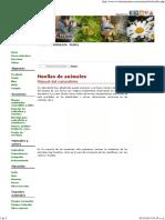 Manual Del Naturalista - Huellas de Animales