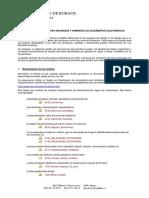 Organizar y Nombrar Documentos