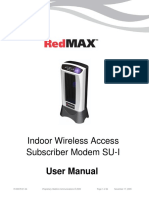 RedMAX Subscriber Indoor SU-I UserManual