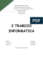 2 Trabajo Informatica