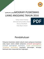DATA DEMOGRAFI PUSKESMAS LIANG ANGGANG TAHUN 2016.pptx