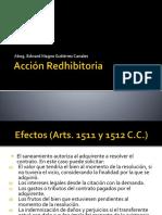 Acción Redhibitoria 1