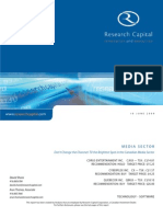 Canadian Media Market - Research Capital - June 2009